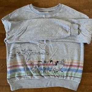 Disney Lion King sweater